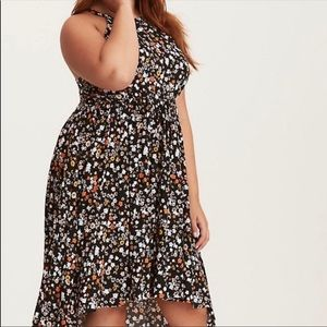 Torrid Floral High to Low Dress!